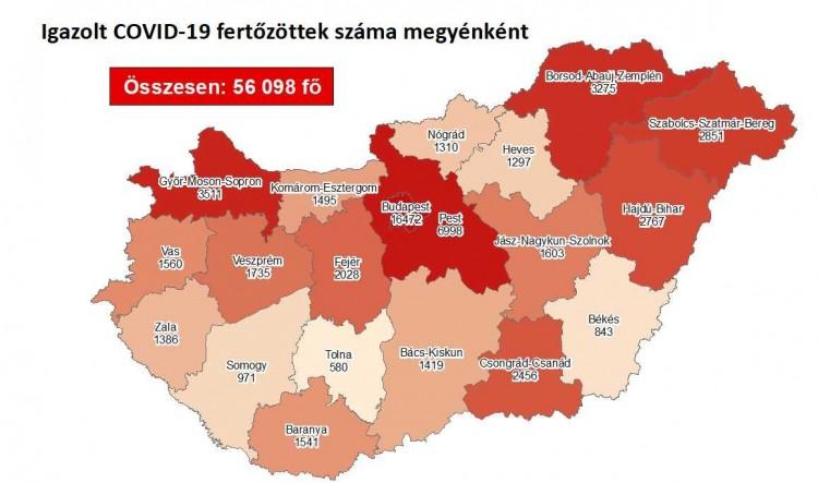 Gyorsult a koronavírus terjedése Szabolcs-Szatmár-Beregben