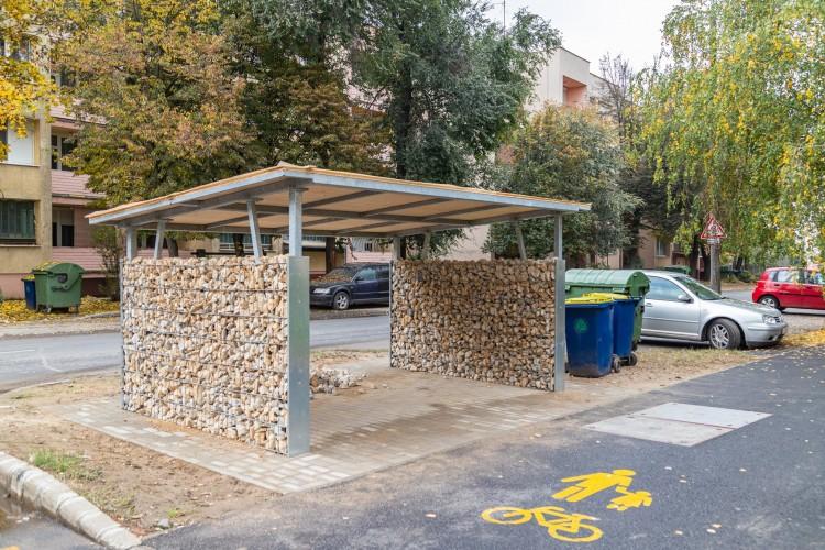 Új szolgáltatás a kerékpárosoknak, Nyírbátorban