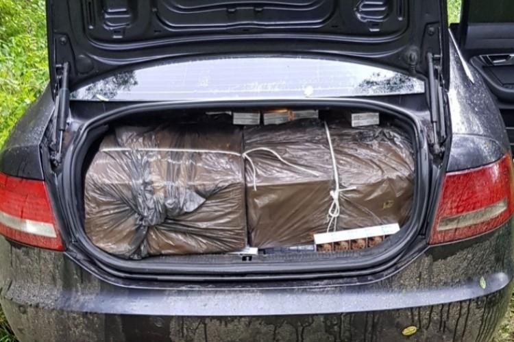Rendőrök találták meg a csempész iratait Csaholc közelében