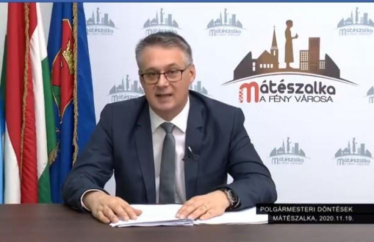 A tervezett bevásárlóközpontról is beszélt Mátészalka polgármestere