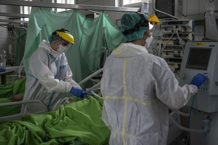 A leginkább leterhelt kórházak egyike a nyíregyházi