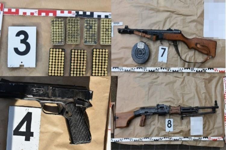 Fegyverarzenál egy gégényi házban - lezárták a nyomozást