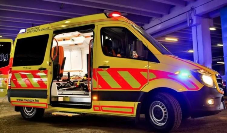 Kórházba került a kisvárdai baleset sérültje