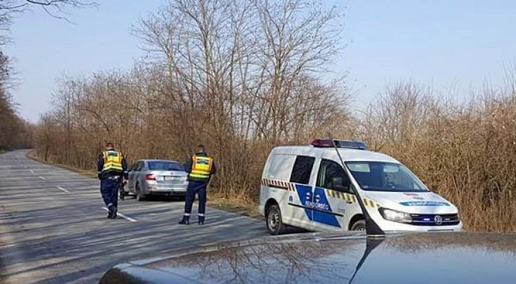 Szarvasrudli okozott balesetet Újkenéznél
