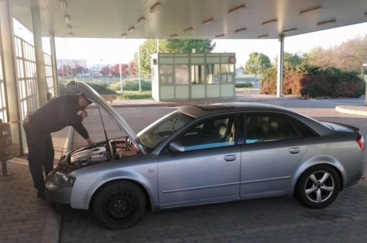 Egy Audival kevesebb a forgalomban