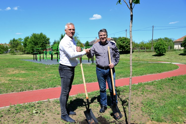Családi park alakul Nyírszőlősön - szabolcsihir.hu