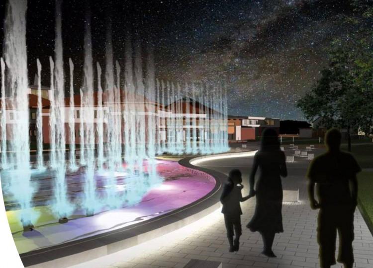 Kezdődik a nyíregyháza-sóstói gigaberuházás: épül a szökőkút
