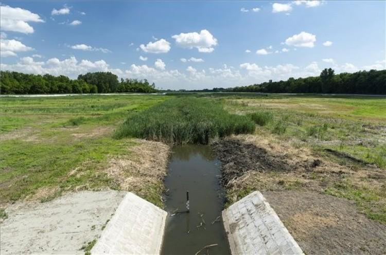 Nagykálló határában már nem sokáig lesz üres a víztározó