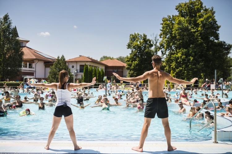 A legnagyobb fürdő is nyitásra kész Nyíregyháza-Sóstón