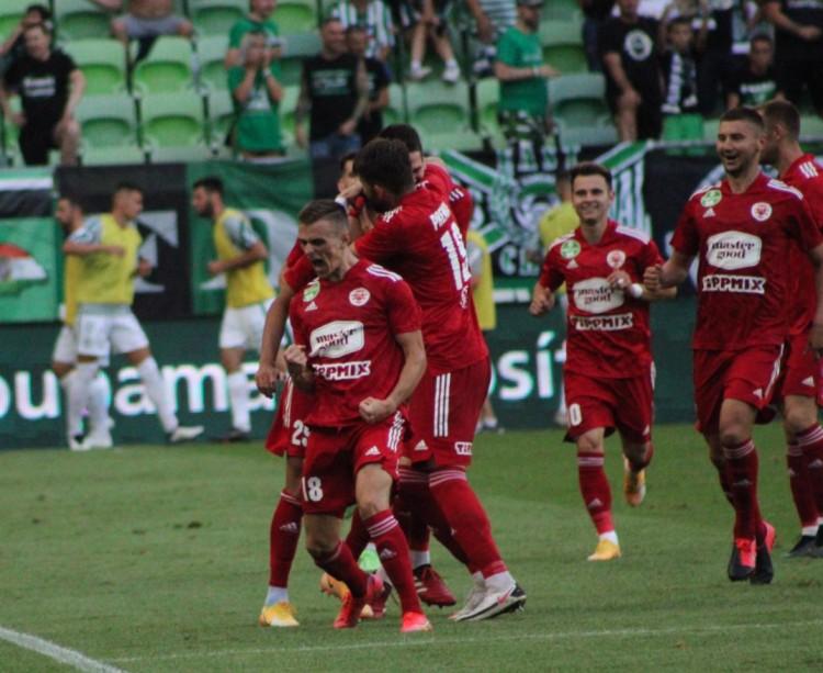A Groupama Arénában verte meg a Kisvárda a Ferencvárost