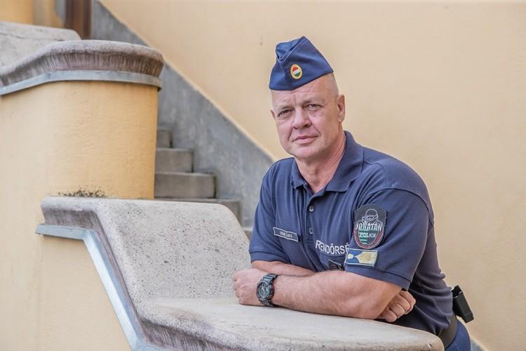 Szabolcs megyében lakik az ország legidősebb bevetési rendőre