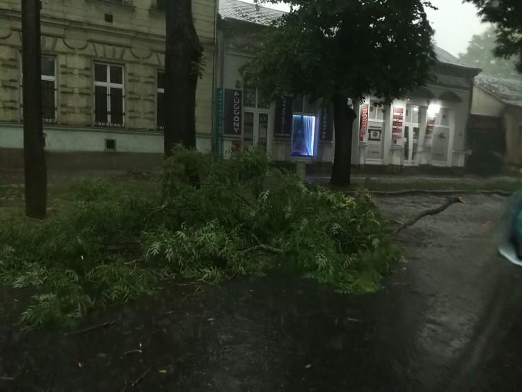 Nyíregyházát is elérte a vihar
